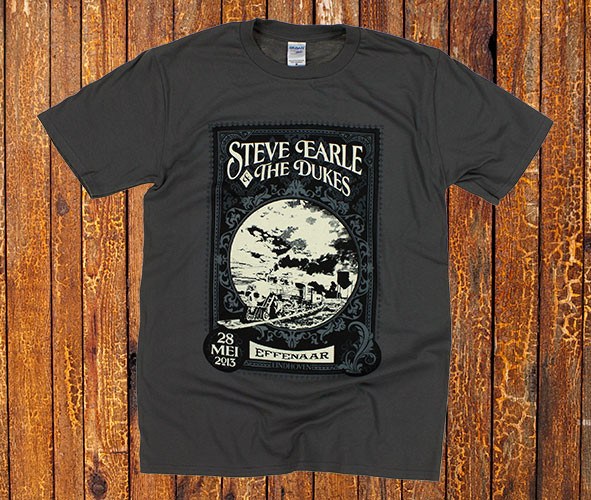 Steve Earle T-shirt