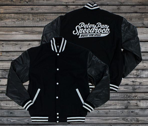Peter Pan Speedrock Baseball Jacket