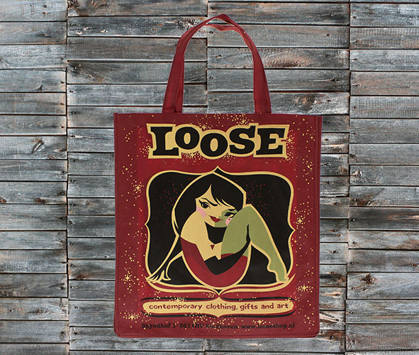 Gerecycled PET shopper Loose
